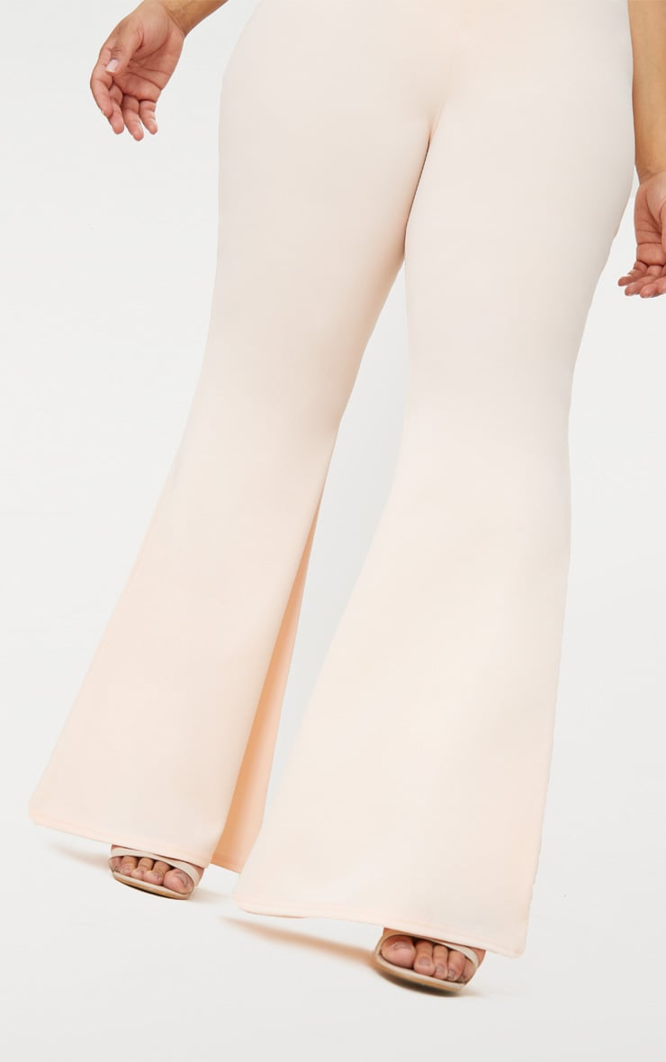 Plus Nude Extreme Wide Leg Trousers 5