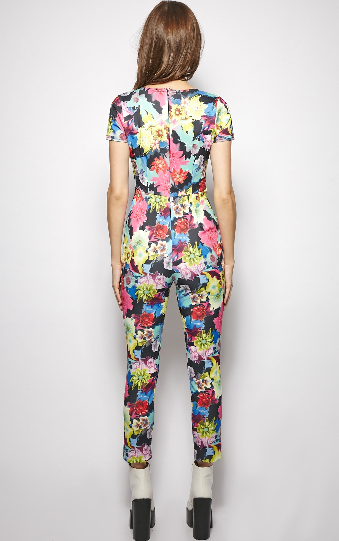 Angelica Exotic Floral Jumpsuit  2
