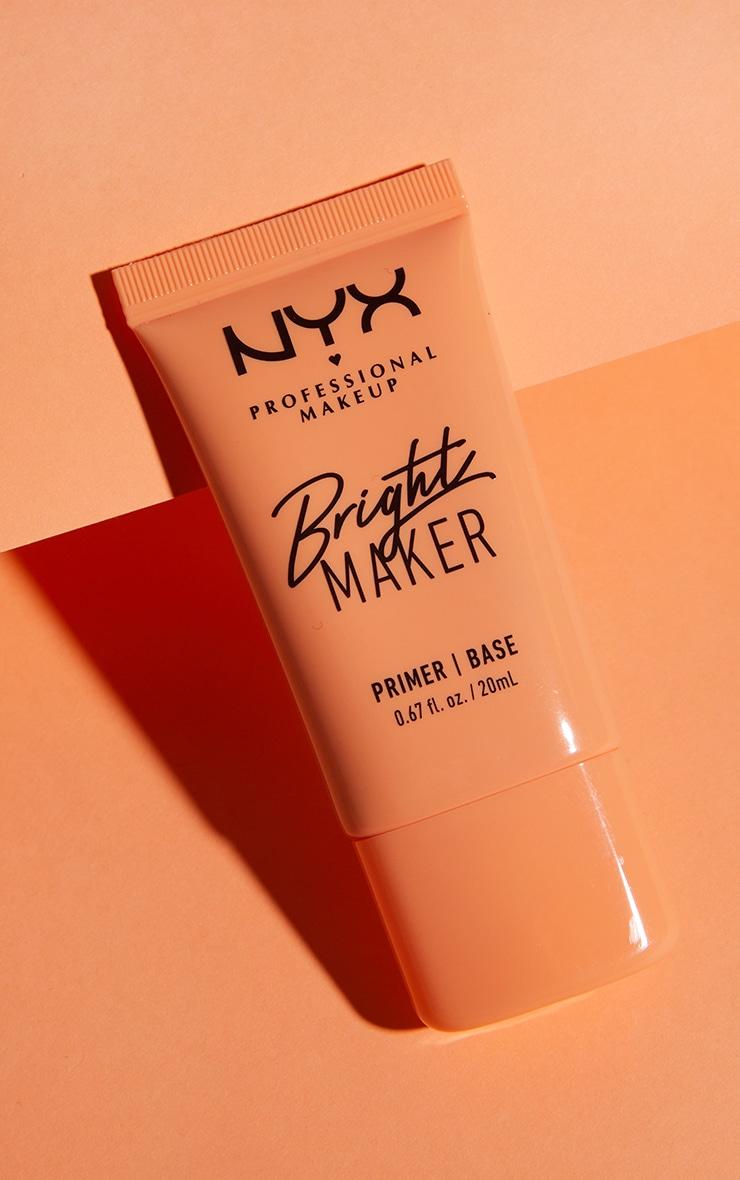 NYX PMU Bright Maker Super Brightening Papaya Face Primer 1