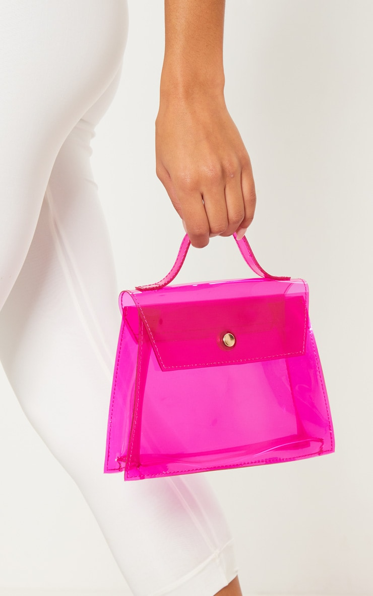 Pink Clear Mini Bag