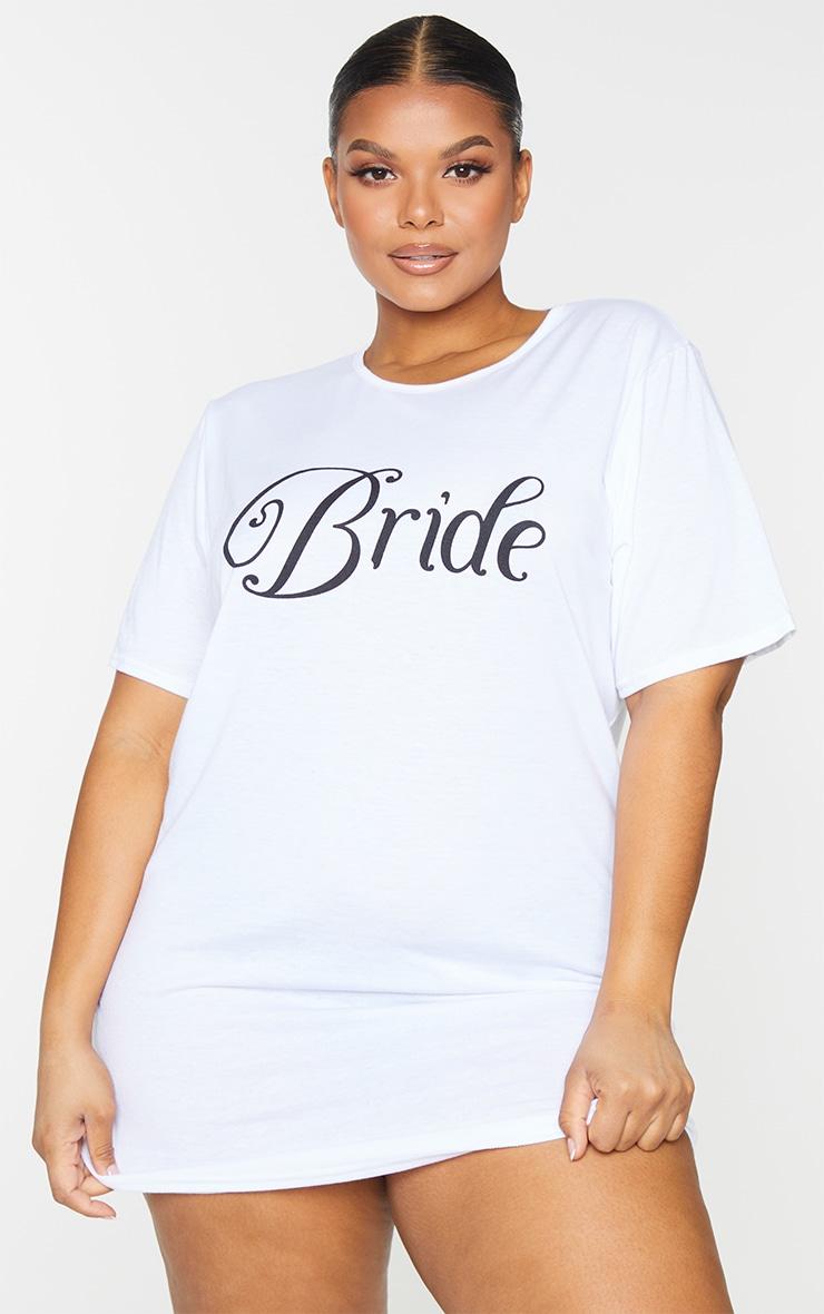 Plus Bride White Nightie 3