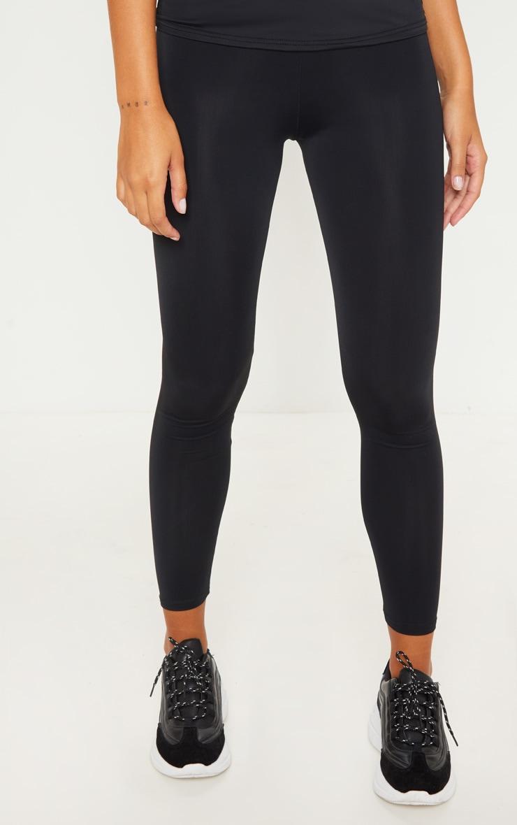Legging de sport basique noir 2