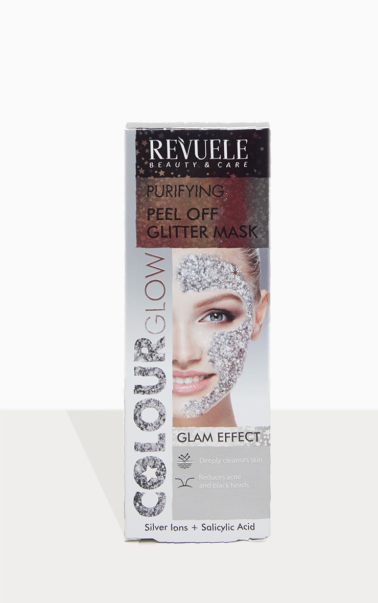 Purifying Peel Off Silver Glitter Mask 3
