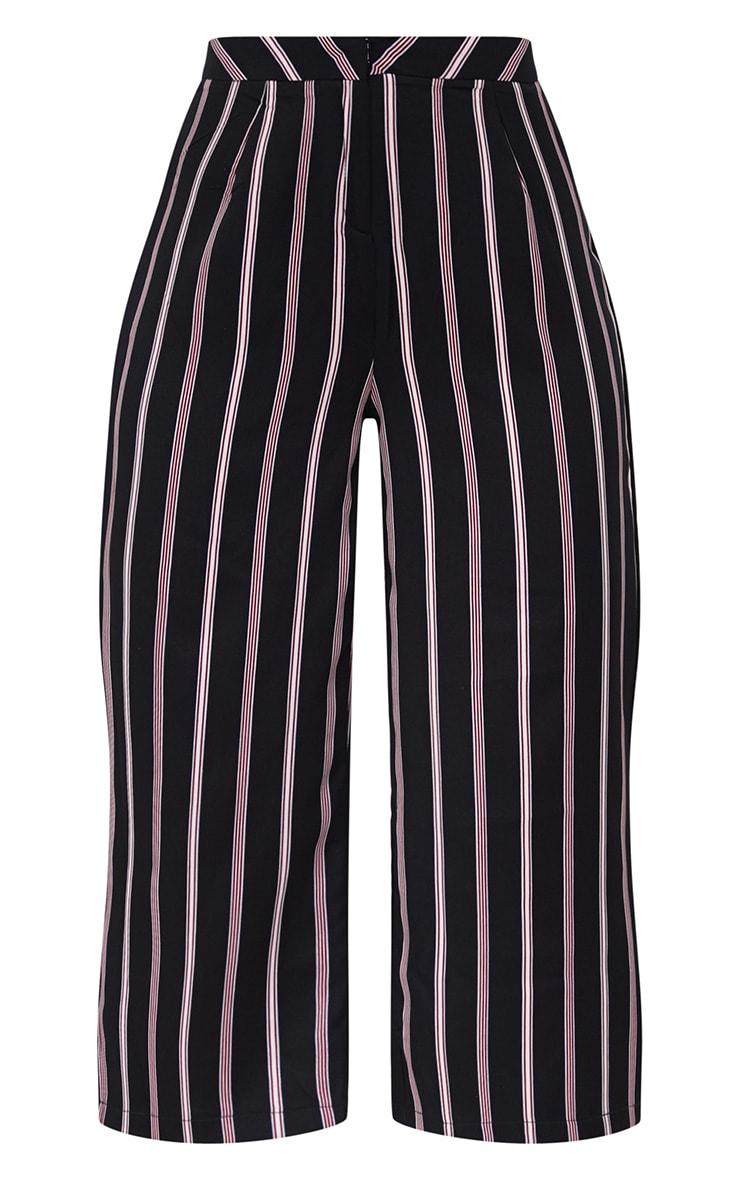 Red Stripe Suit Culottes 3