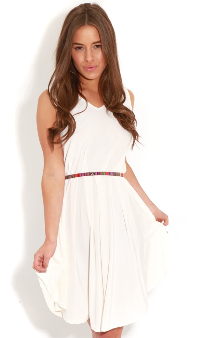 Anita White  Swing Dress 4