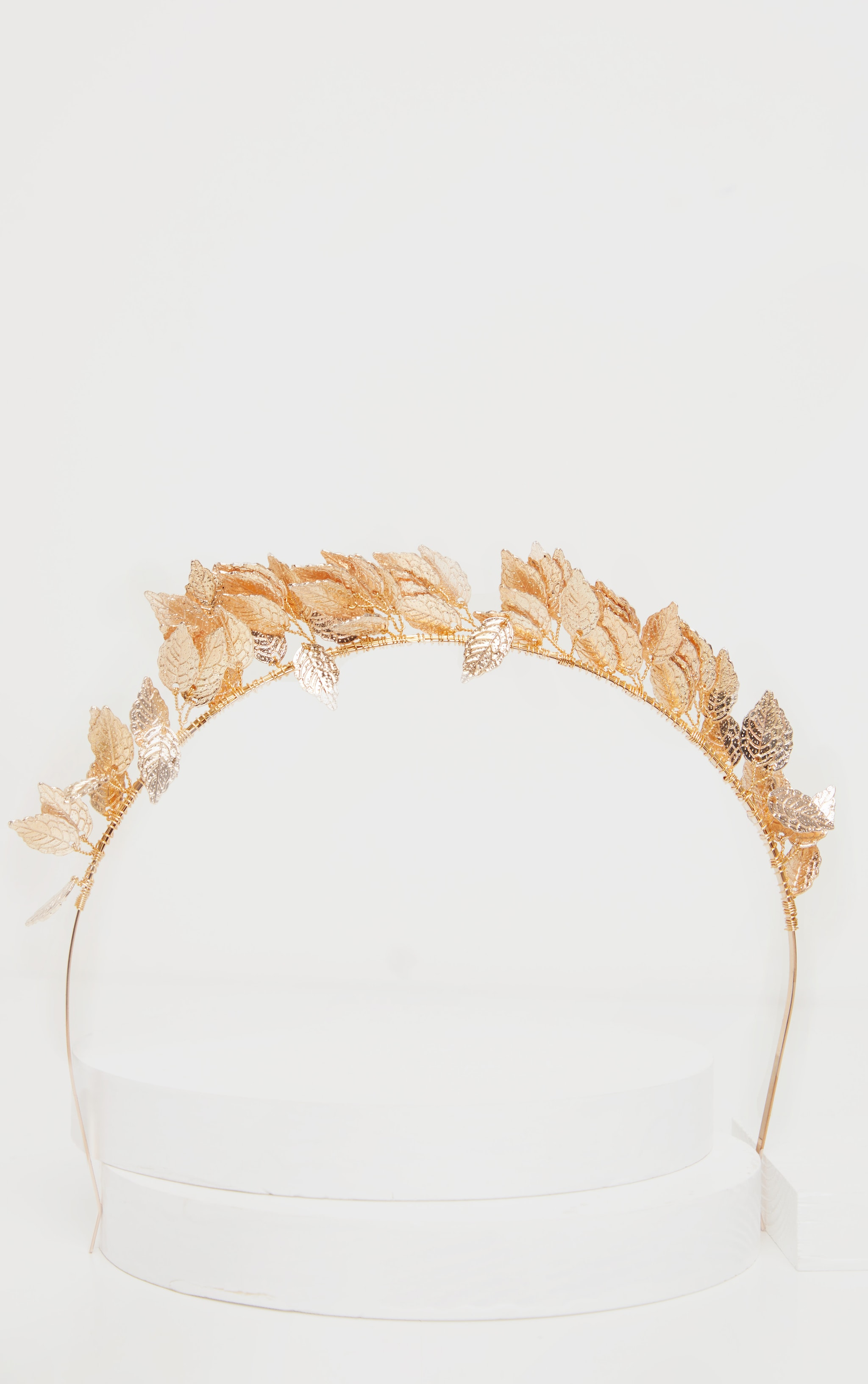 Gold Leaf Headband 2