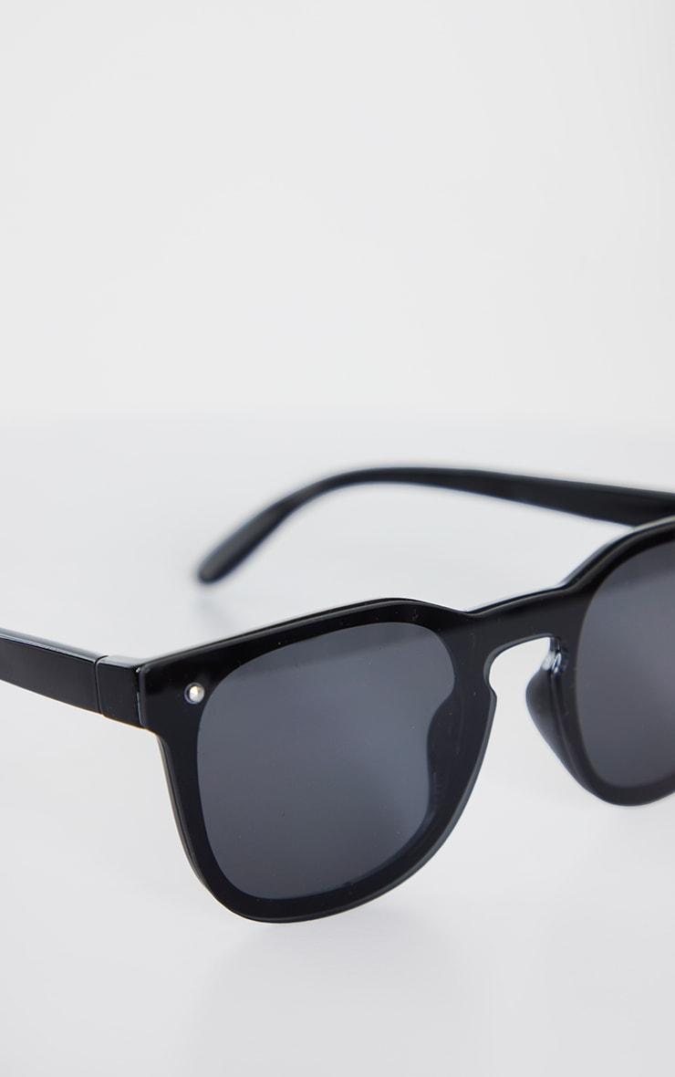 Jeepers Peepers Black Retro Sunglasses 3