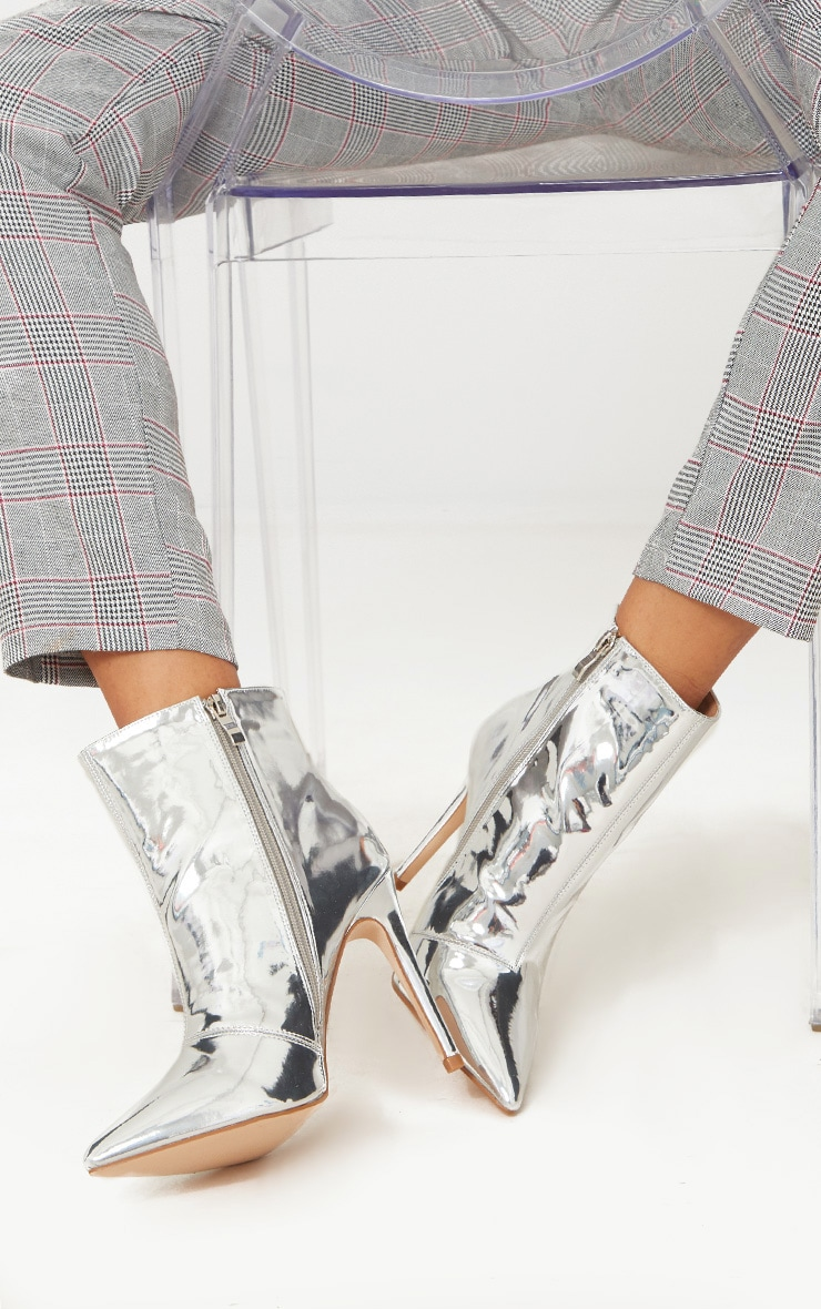 Silver Point High Ankle Boot 1