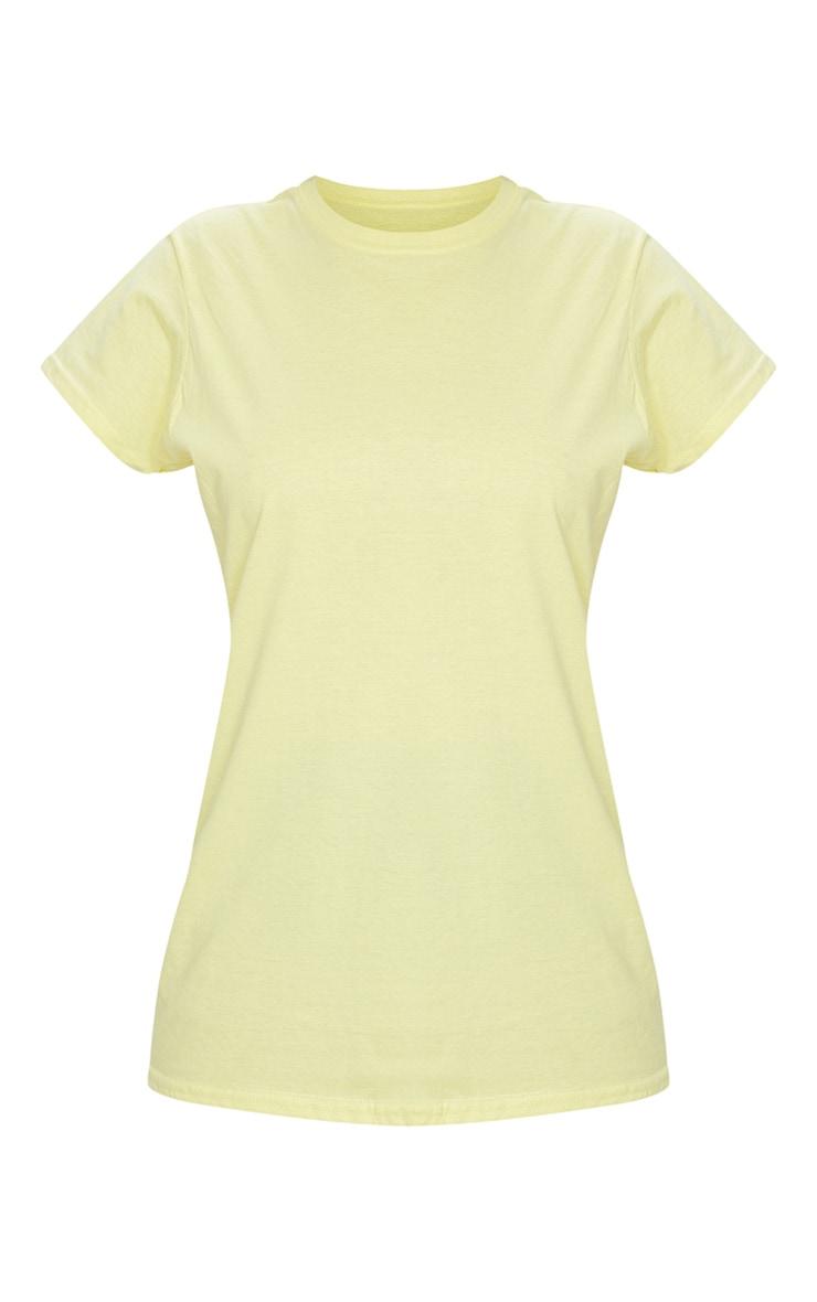 Lemon Fitted T Shirt 5