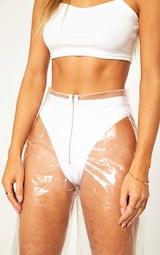 Transparent Zip Front Trouser 6