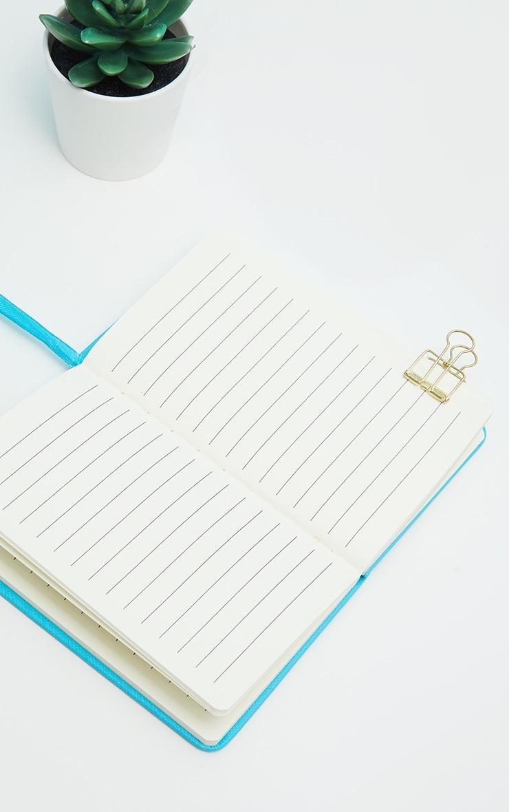 Blue Neon A6 Notebook  3