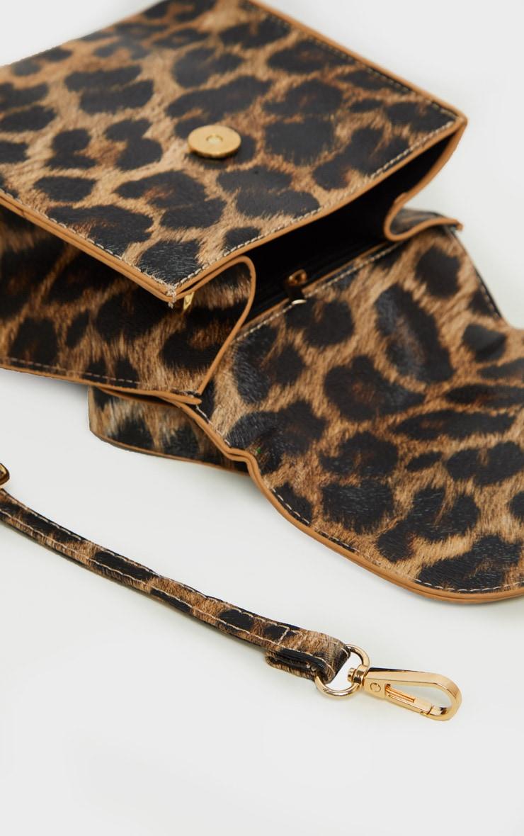 Leopard Ring Detail Mini Bag 4