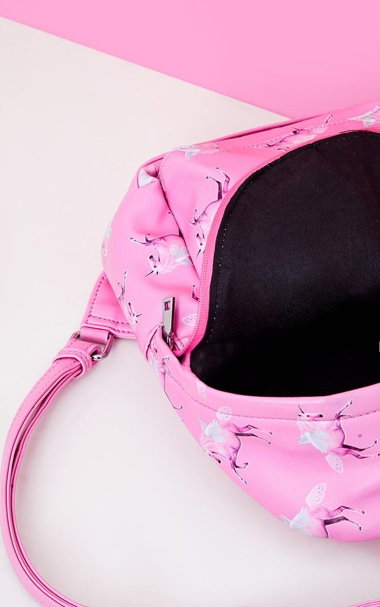 6c4450bc81ff PRETTYLITTLETHING Unicorn Pink PU Backpack