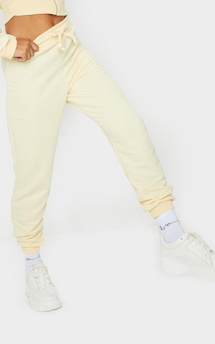 Pale Yellow Ultimate Sweat Jogger 3