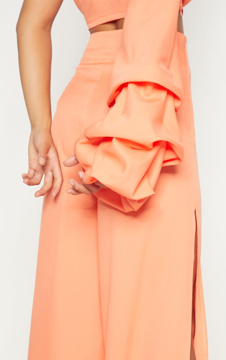 Petite Coral Wide Leg Trousers 5
