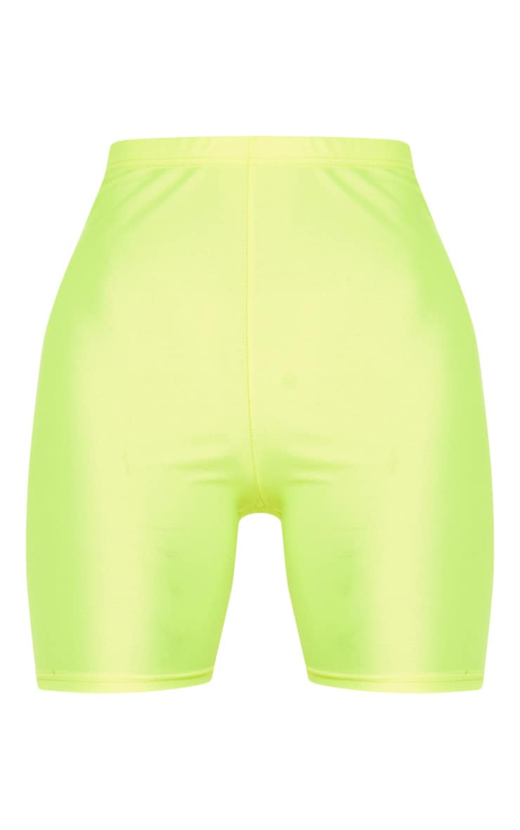 Short legging jaune fluo 4