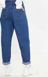 Mid Wash Basic Dad Jean 4