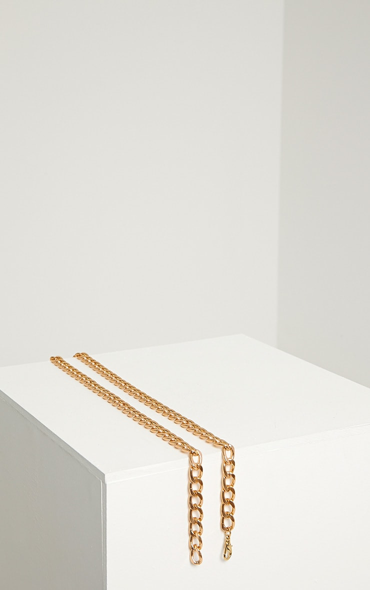 Deny Gold Chain Belt 3
