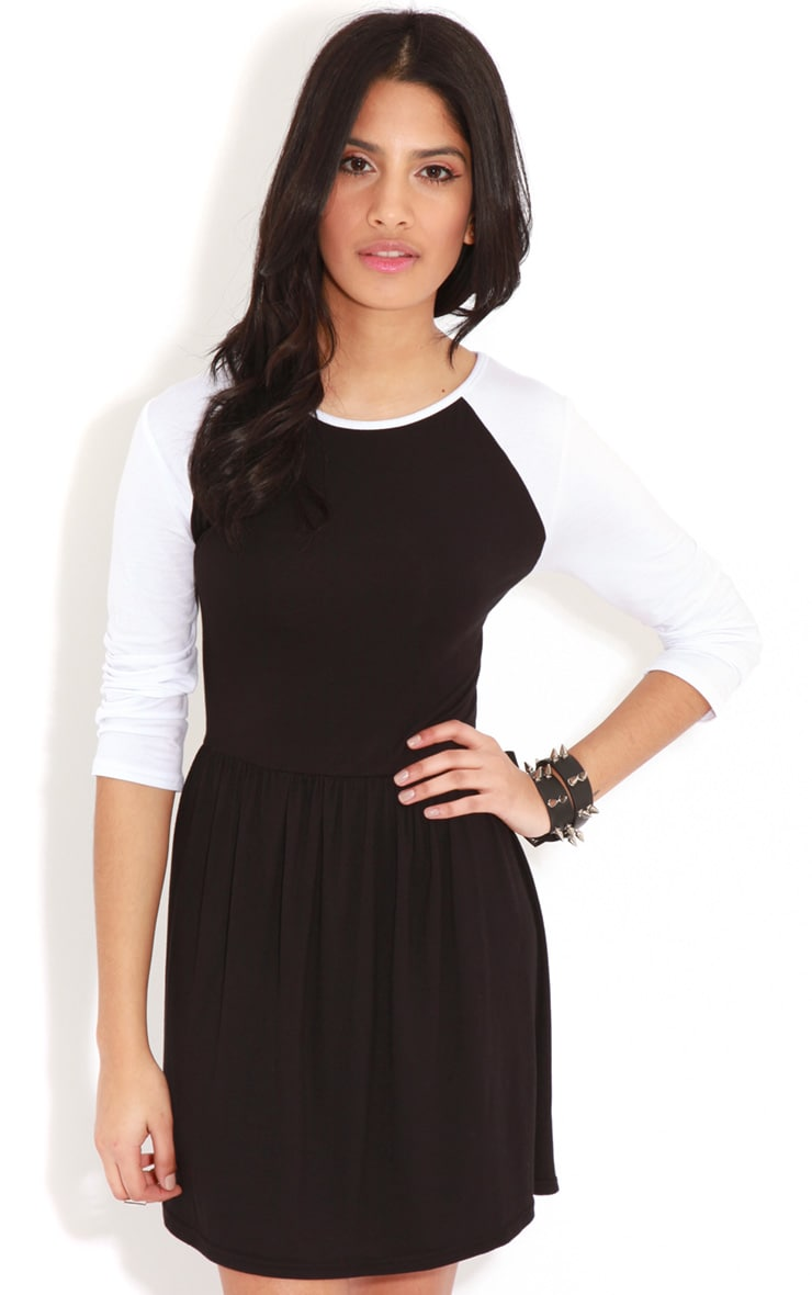 Cammy Monochrome Skater Dress 1