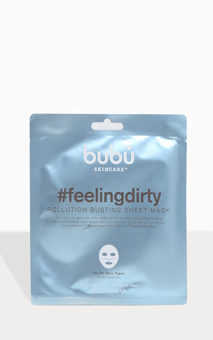 Bubu Skincare #feelingdirty Pollution Protection Mask 1