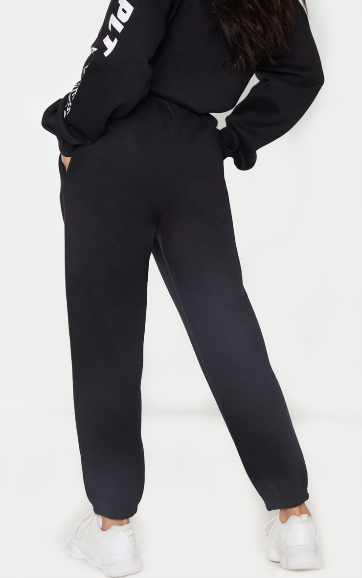 PRETTYLITTLETHING Black New Season Jogger 4