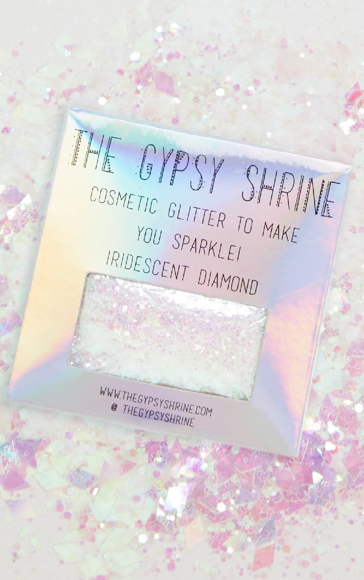 The Gypsy Shrine - Sachet de paillettes irisées forme diamant