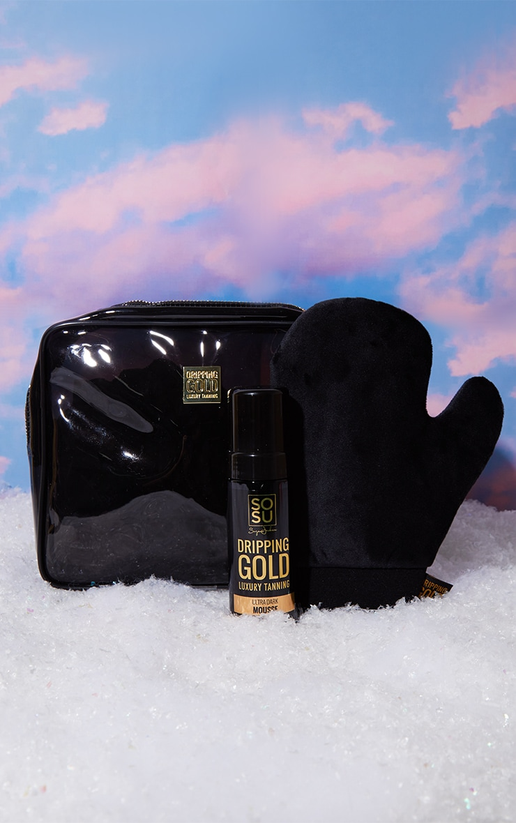 SOSUBYSJ Christmas Perfect Pair Ultra Dark Mousse & Mitt & Bag 1