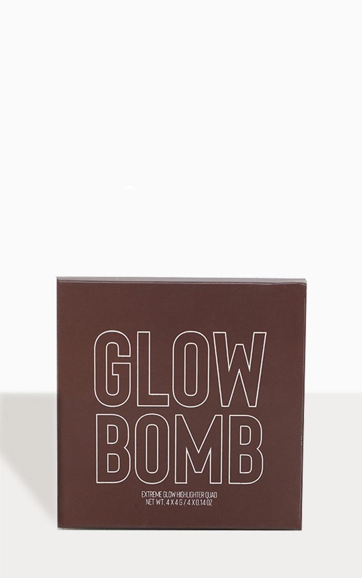 Rincon Cosmetics Glow Highlighter Quad Tan to Deep 3