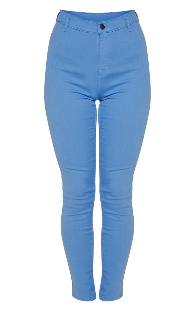 Charcoal Blue Disco Skinny Jean 3