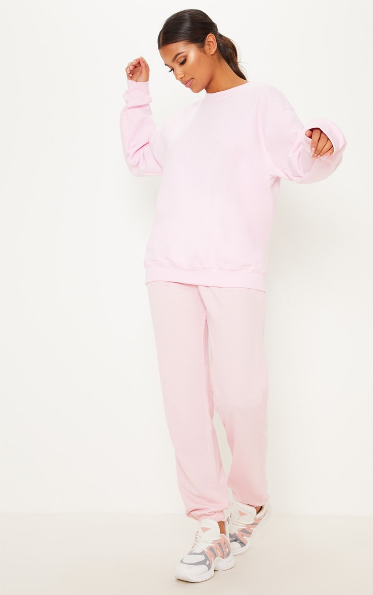 Light Pink Ultimate Oversized Sweater 1
