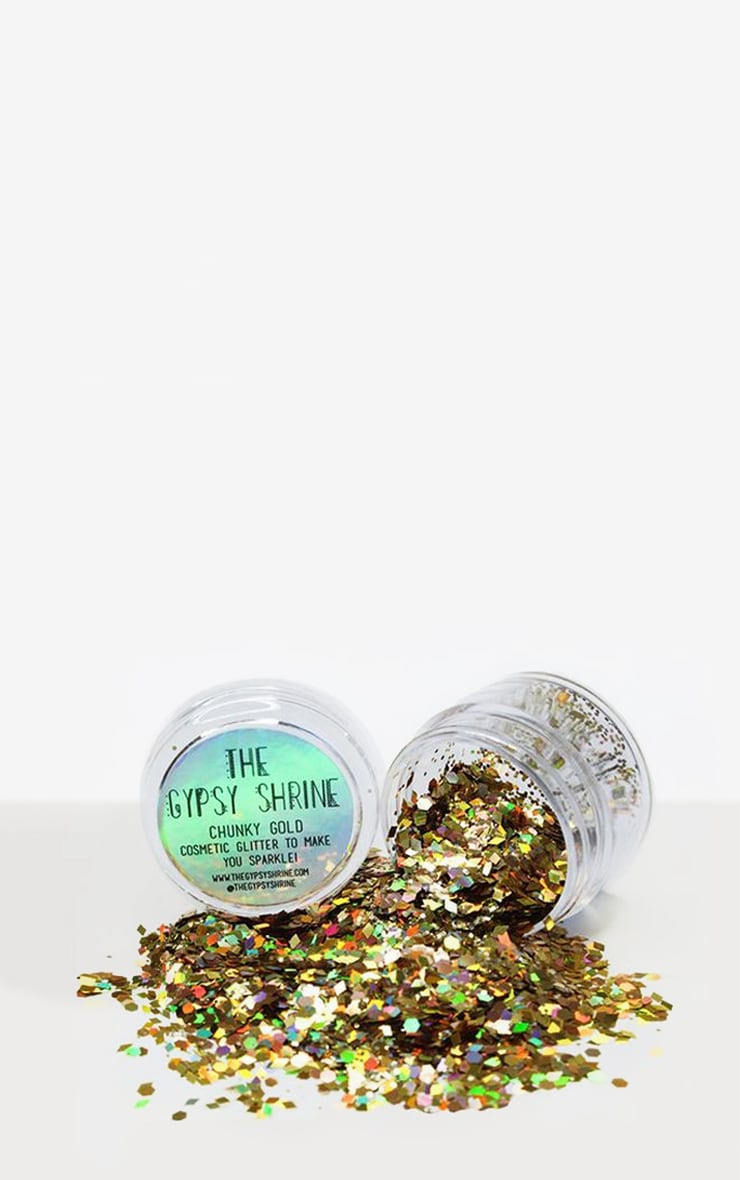 The Gypsy Shrine Chunky Gold Glitter Pot 1