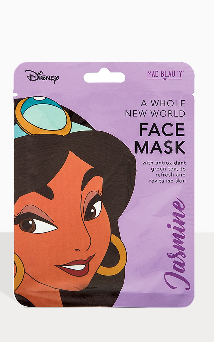 Disney Princesses Jasmine A Whole New World Face Mask 1