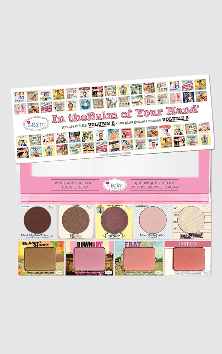 TheBalm In The Balm Of Your Hand Eyeshadow and Blusher Palette 1