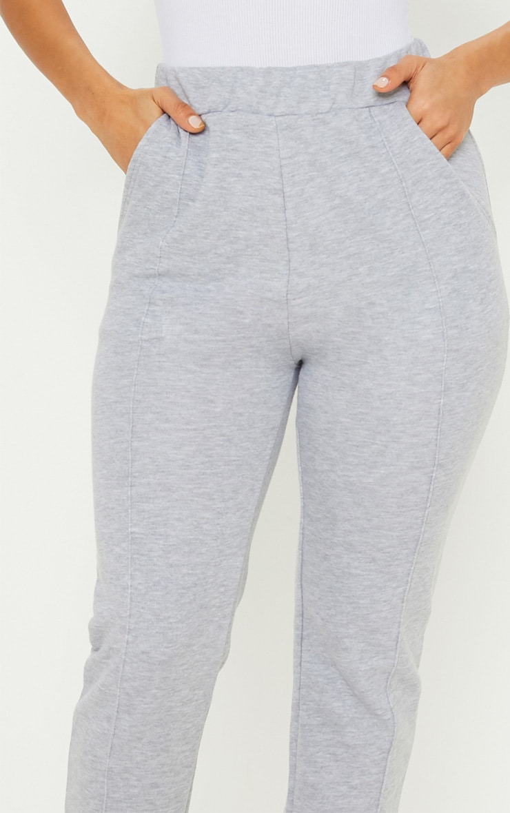 Grey Front Seam Sweat Jogger 5