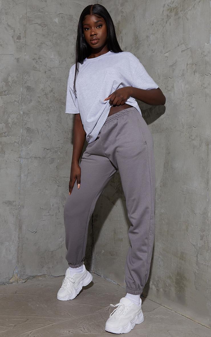 Tall Grey Oversized Boyfriend T Shirt 3