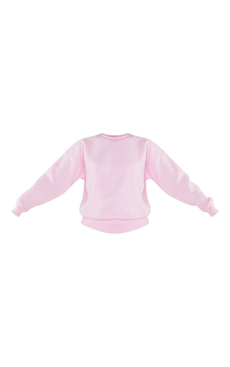 Petite Baby Pink Ultimate Oversized Sweater 5