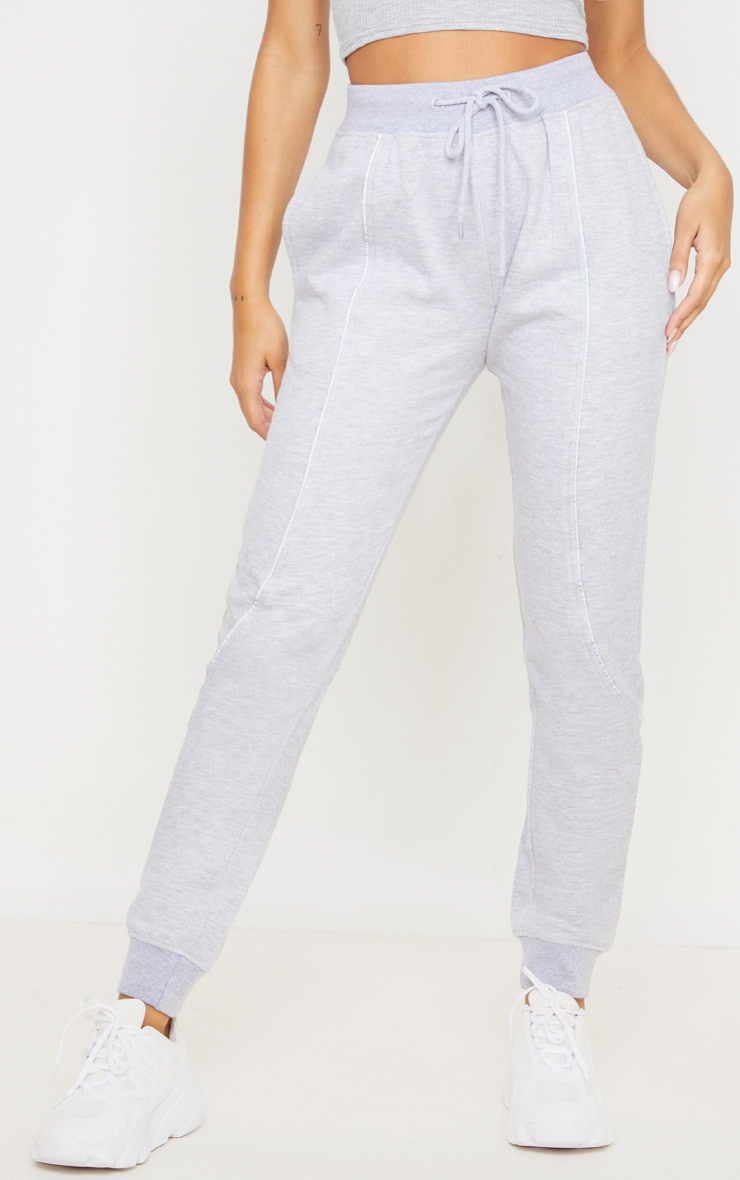Grey Reflective Contrast Binding Jogger 2