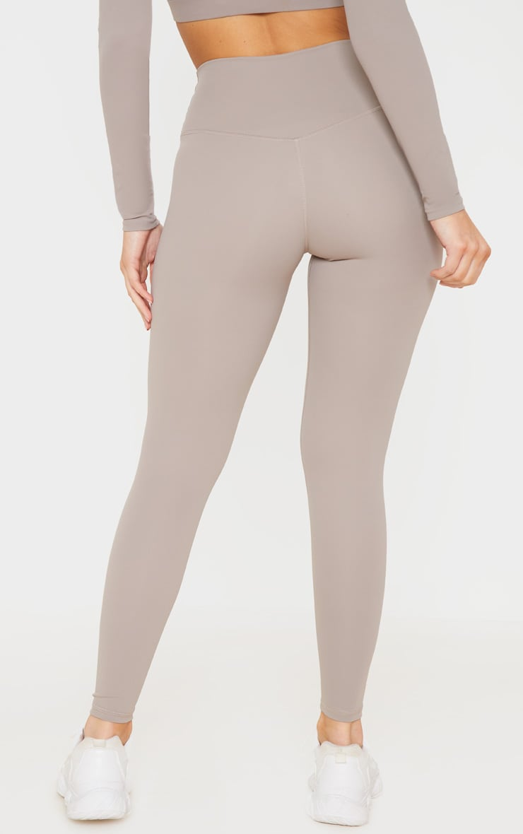 Taupe Sculpt Luxe Gym Legging 3