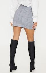 Mini-jupe carreaux et ceinture O. Jupes   PrettyLittleThing FR 264f5964395