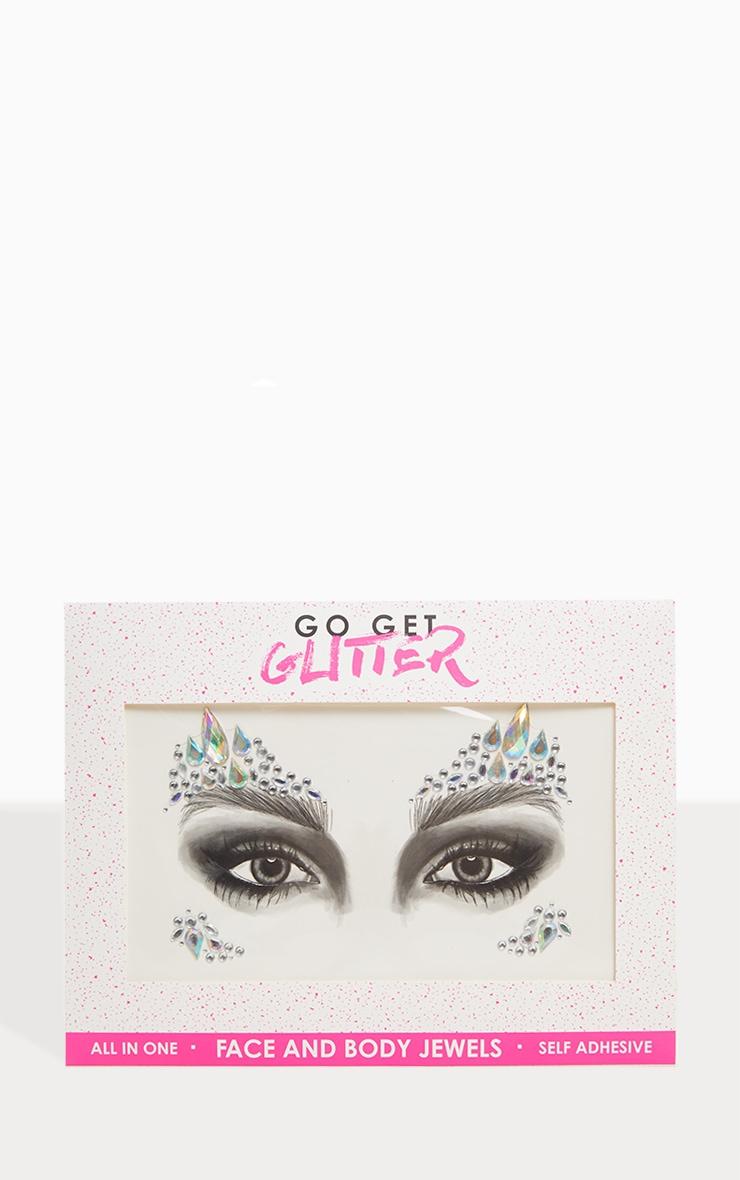 Go Get Glitter Iridescent Face Jewels 2
