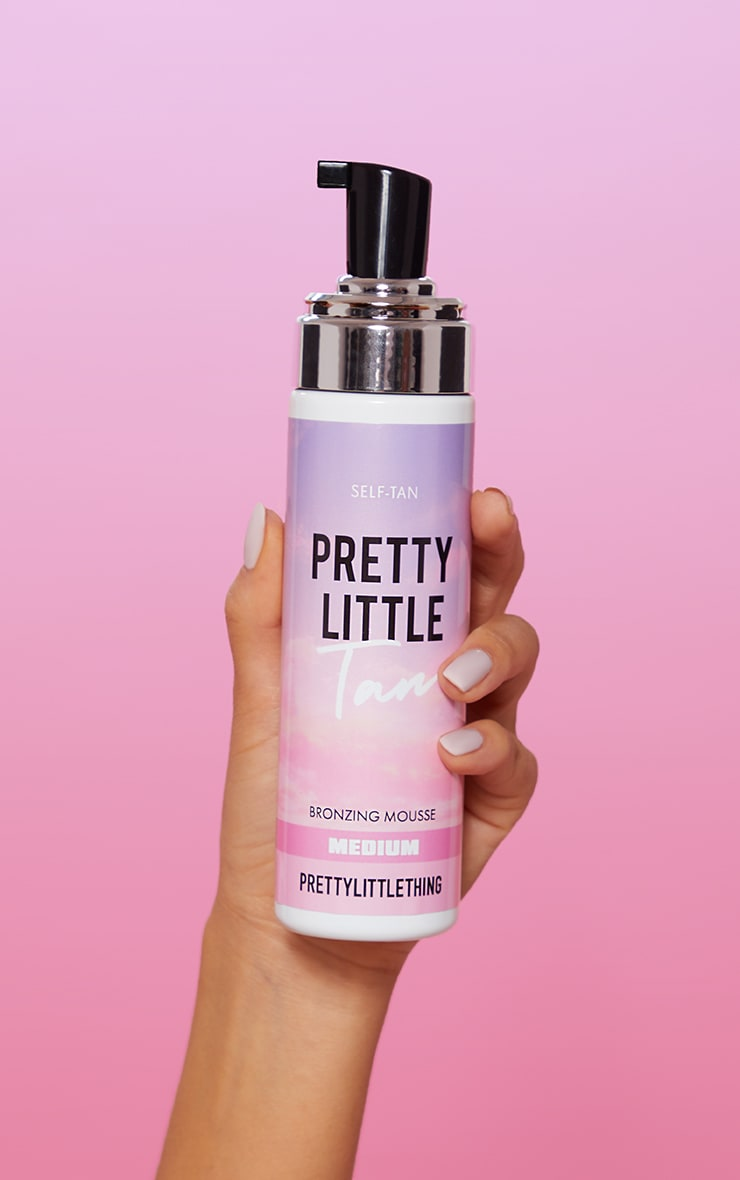 PrettyLittleTan Tanning Mousse Medium 2