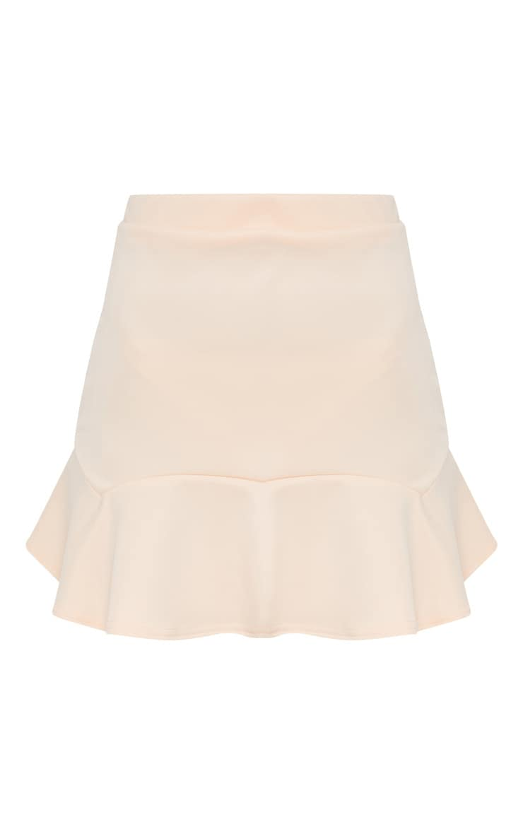 Nude Flippy Hem Mini Skirt 3
