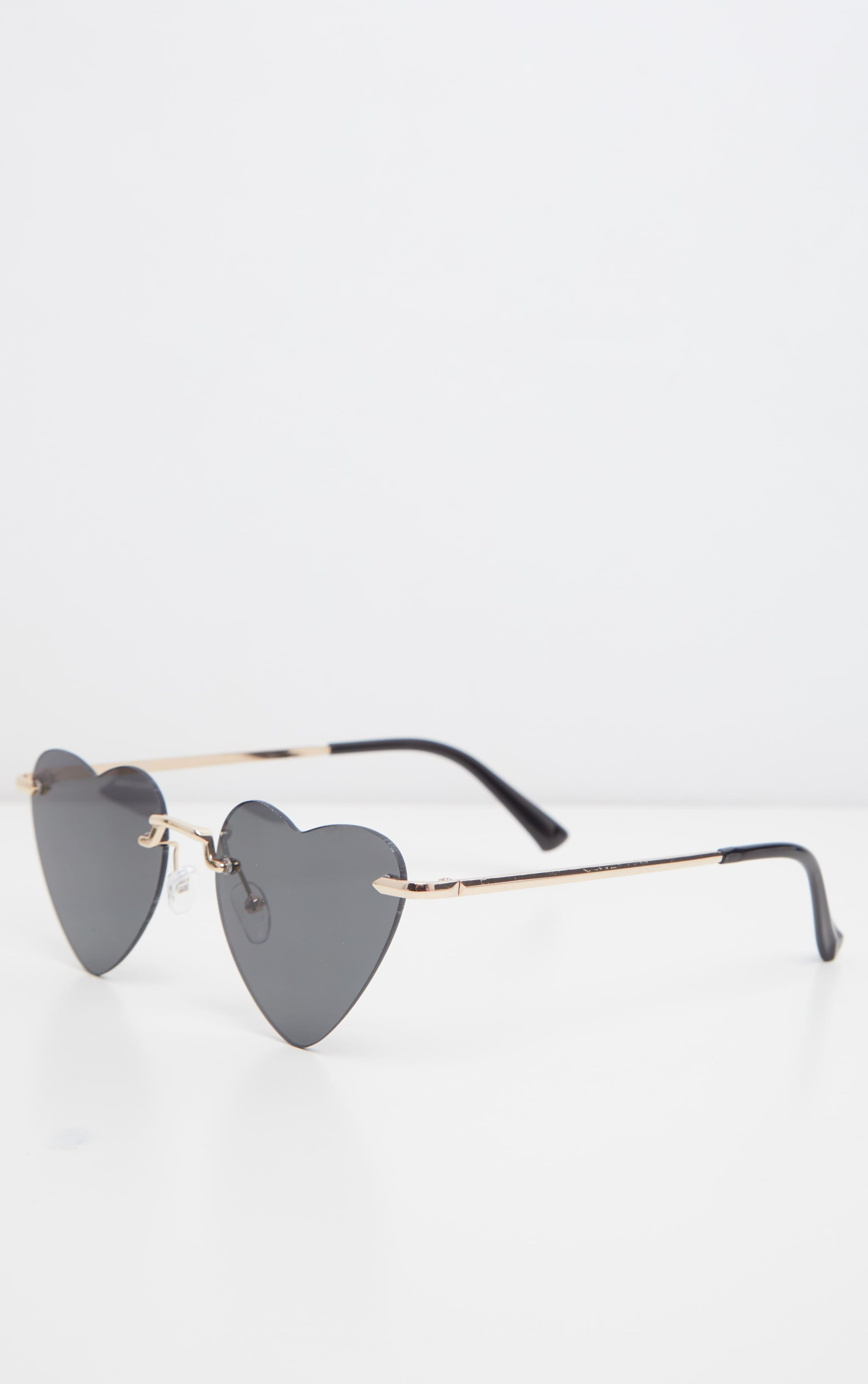 Black Heart Shaped Sunglasses 3