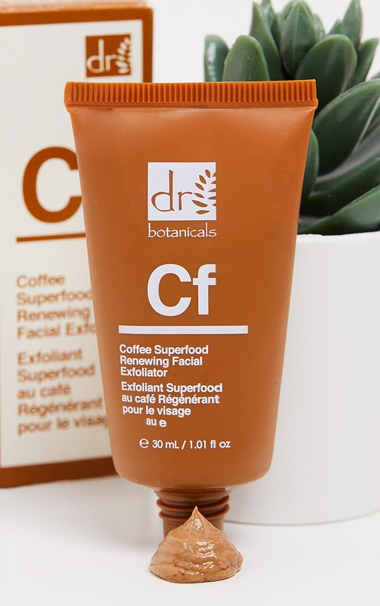 Dr Botanicals Coffee Superfood Renewing Facial Exfoliator (Travel Size) 1