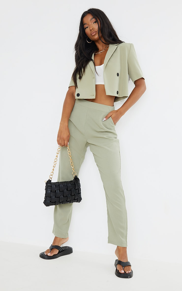 Sage Tailored Pants 1