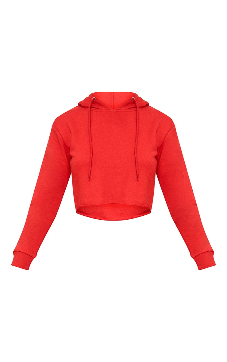 Red Side Stripe Hoodie 3
