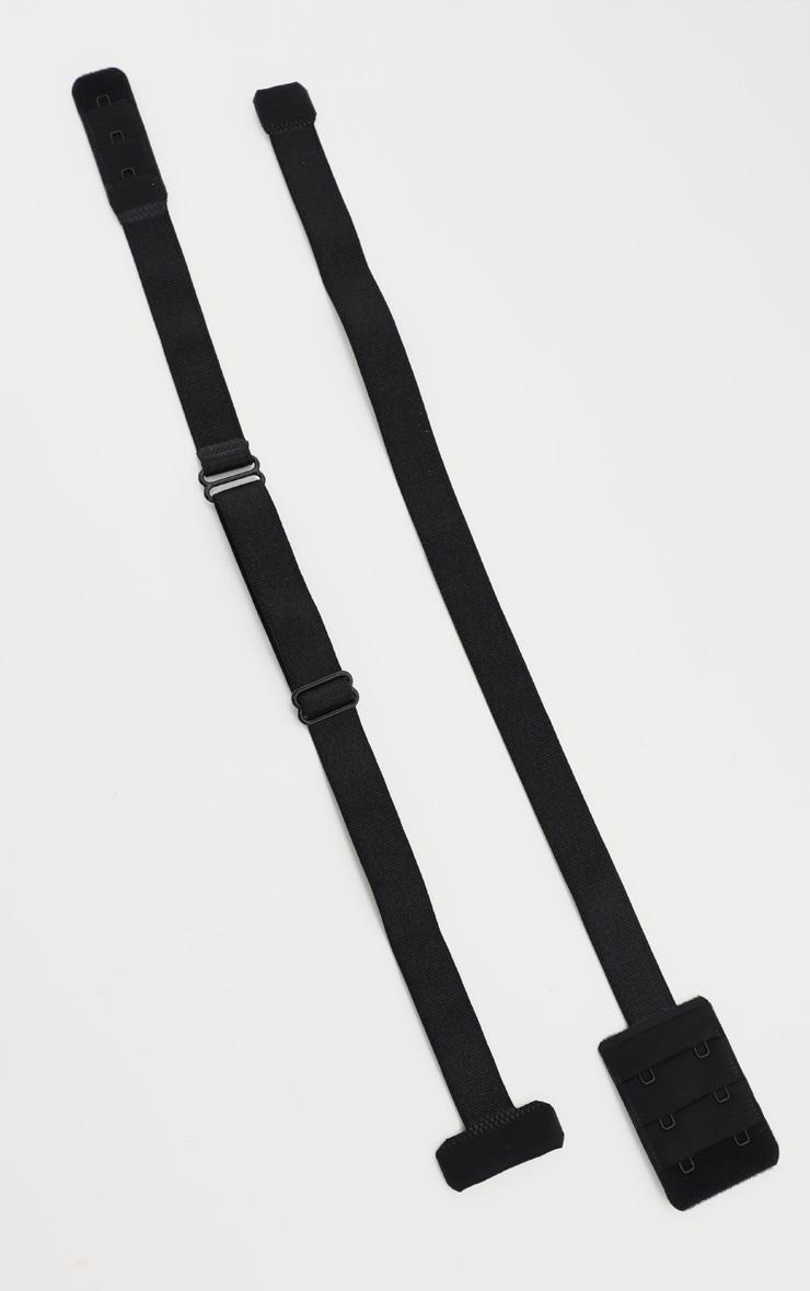 Black Low Back Bra Strap Converter 2