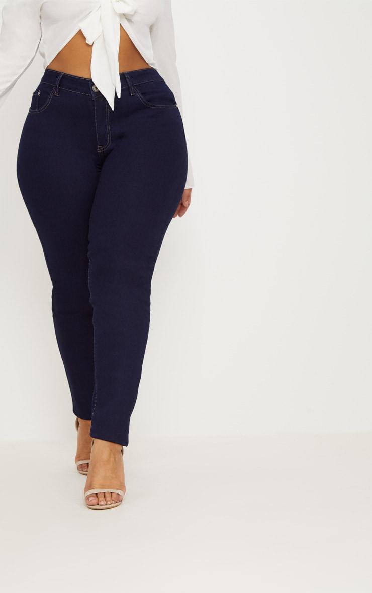 Plus Indigo Skinny Jeans 2