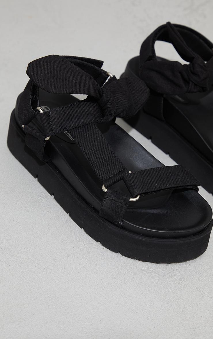 Black Sports Sandals 4