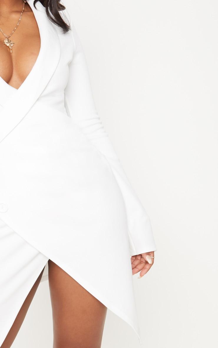 Shape White Blazer Dress 5